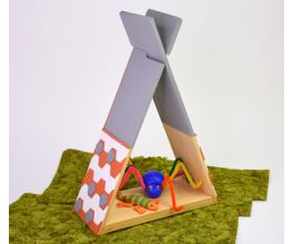 Sculpey Soufflé™ and Walnut Hollow Wooden Shelf Collaboration