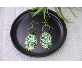 Sculpey Premo™ & Sculpey Soufflé™ Cherry Tree Beads Collaboration Earrings