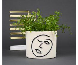 Original Sculpey® Abstract Face Planter