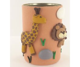 Sculpey Air-Dry™ Jungle Air Dry Pencil Cup