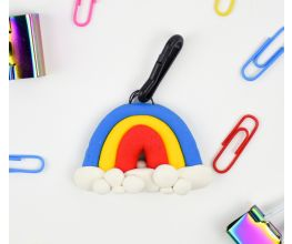 Sculpey Bake Shop® Rainbow Backpack Tag