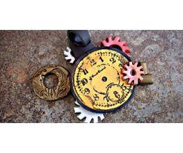 Sculpey Premo™ All Clay Steampunk Pendant