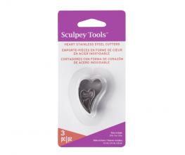 Sculpey Stainless Steel Cutters – Graduated Irregular Hearts