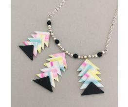 Premo Sculpey Elegant Arrows Necklace