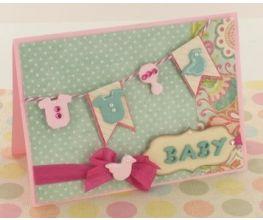 Sculpey® III Sweet Baby Card