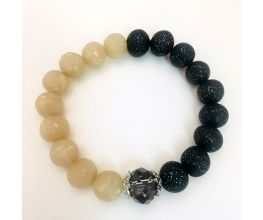 Premo Sculpey® Accents Yin and Yang Balance Bracelet