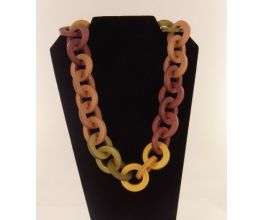 Sculpey Premo™ Mega Metallic Links Necklace