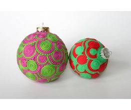 Sculpey Premo™ Extruded Sculpey Doodle Ornaments