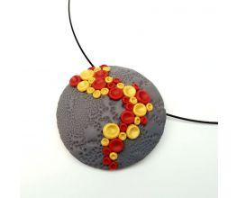 Premo Cayenne Bubble Pendant