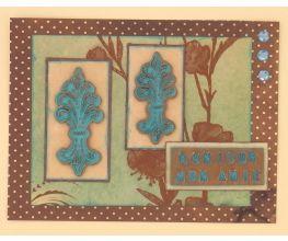 Sculpey Premo™ Fleur De Lys Greeting Card