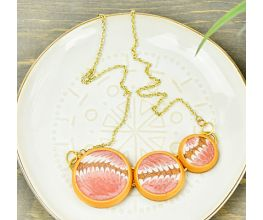 Liquid Sculpey® Circular Motion Necklace