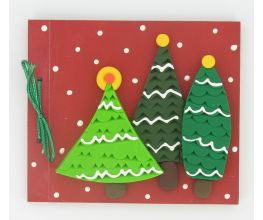 Sculpey III Embellished Christmas Tree Photo Album