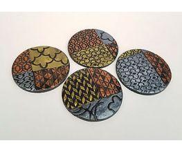 Sculpey Premo™ Geometric Coasters
