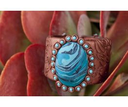 Sculpey Premo™ Southwestern Style Leather Look Bracelet