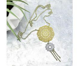 Liquid Sculpey® Double Mandala Necklace
