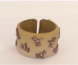 Sculpey Premo™ Skinner Blend Cuff Bracelet