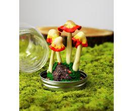 Sculpey Premo™ Glow Mushroom Terrarium