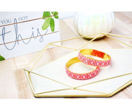 Sculpey® Soufflé Mandarin Cuff Bracelet