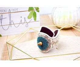 Sculpey® Souffle and Liquid Sculpey® Mandala Cuff Bracelet