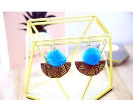 Sculpey® Soufflé™ Pom Pom Earrings