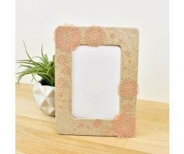 Sculpey Liquid® Faux Stone Covered Frame