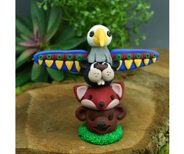 Sculpey III® - Colorful Animal Totem Pole