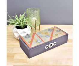 Premo Grey Granite Mixed Media Table Box