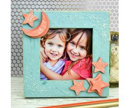 Sculpey Air-Dry Clay Terra Cotta Star Frame