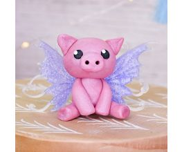 Sculpey III® and Liquid Sculpey® Cute Little Fairy Piglet
