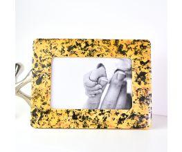 Liquid Sculpey® Splattered Amber Frame