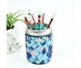 Sculpey Premo™ Mermaid Makeup Brush Holder