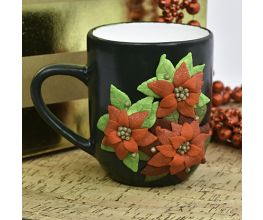 Premo Sculpey® Holiday Set Poinsettia Mug