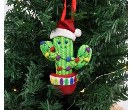 Sculpey SouffléTM Christmas Cactus