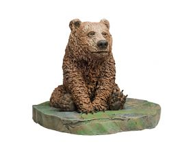 Artist Inspiration - Paul Pape Bear Sculpture