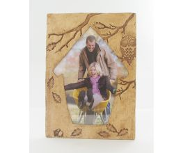 Sculpey Premo™ Falling Leaves Frame