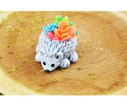 Original Sculpey® Granite Faux Stone Hedgehog Planter