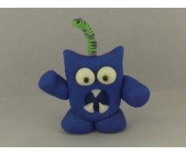 premo! and Sculpey® III Kooky Monster