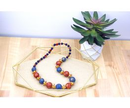 Premo Fun Mosaic Look Necklace