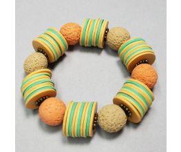 Souffle Flat and Textures Bracelet