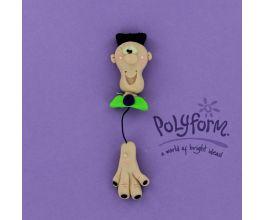 Sculpey® III  Frankenstein and Hand Dangle Pin