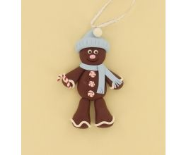 Sculpey® III Gingerbread Man Ornament