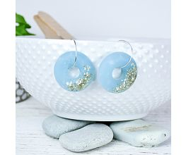 Liquid Sculpey® Glittering Cabochon Earrings
