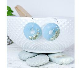 Liquid Sculpey® Glittering Cabochon Earrings