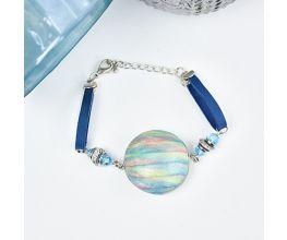 Sculpey Premo™ Iridescent Hollow Bead Bracelet