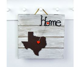 "Sculpey III® Wood and Clay ""Home"" Plaque"