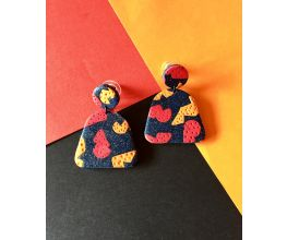 Sculpey Premo™ Galaxy Glitter Print Earrings