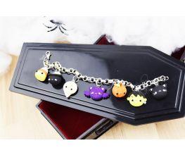 Sculpey III® Halloween Whimsy Charm Bracelet