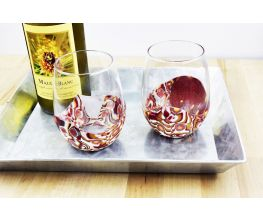 Sculpey Premo™ Amber Layers Wine Glass