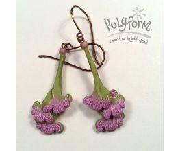 Premo! Extruded Tassel Blossom Earrings