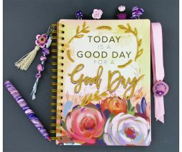 Sculpey III and Liquid Sculpey Decorated Day Planner and Accessories